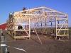 Framing the new hen house
