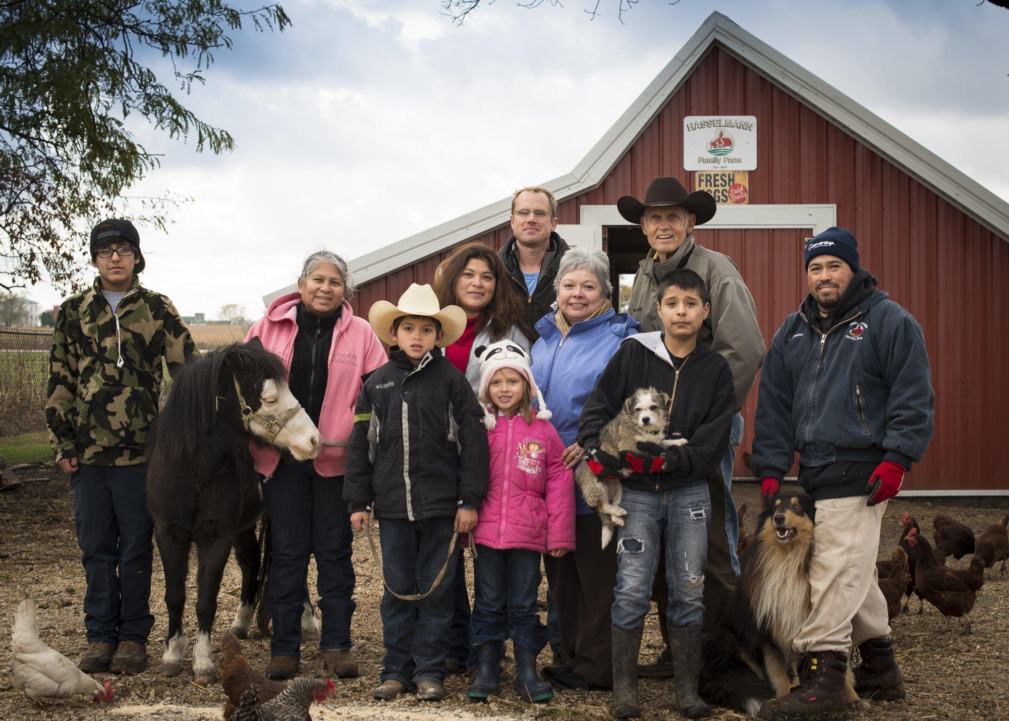 Family farm near Chicago- About Hasselmann Family Farm ...  Family farm nea...
